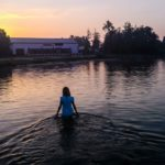 Jezioro Białe wschód słońca - FotoAno