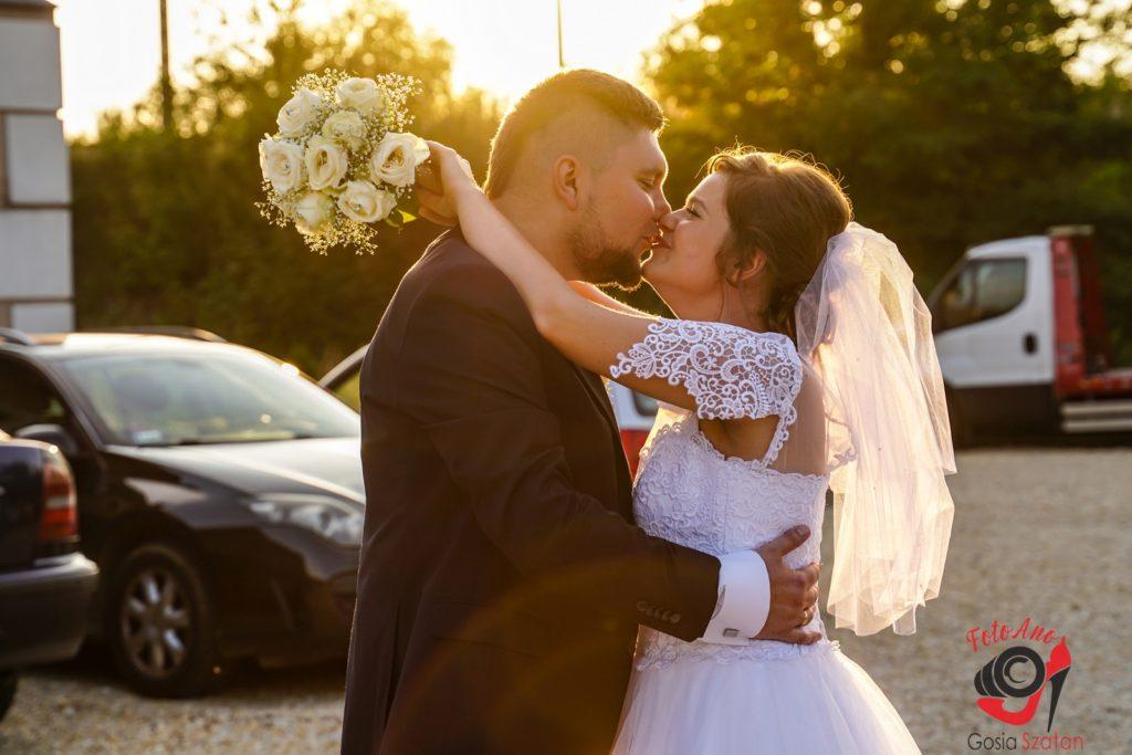Plener w dniu wesela