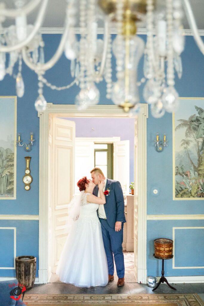 Plener ślubny w pałacu - FotoAno