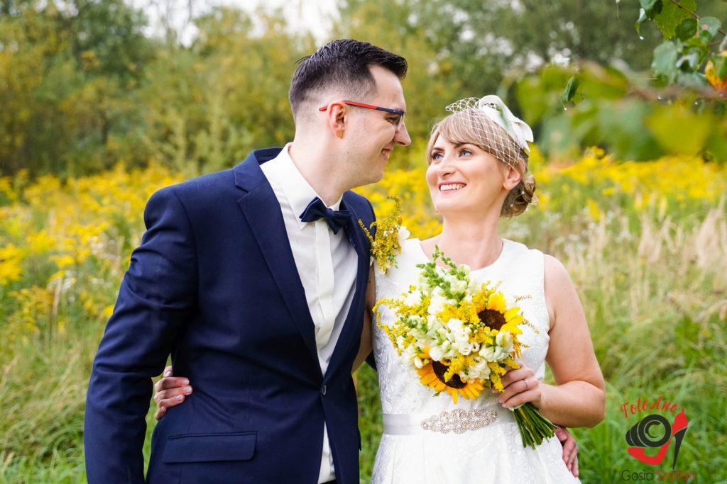 Jesienna sesja ślubna w Oświęcimiu